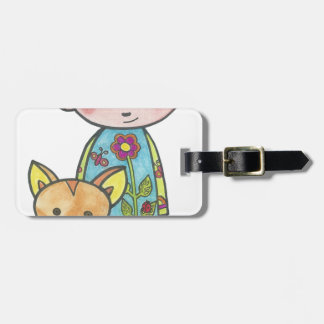 Mined and pussy luggage tag