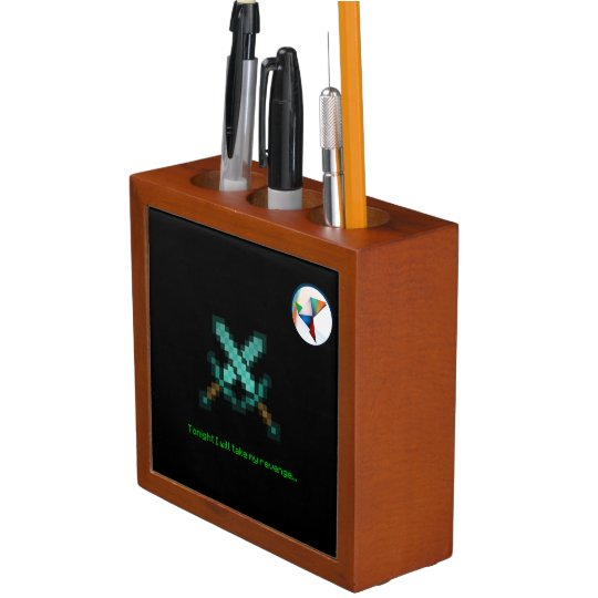 Mineman Pencil Holder