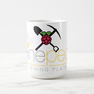 Minepeon & Raspberry Pi Coffee Mug