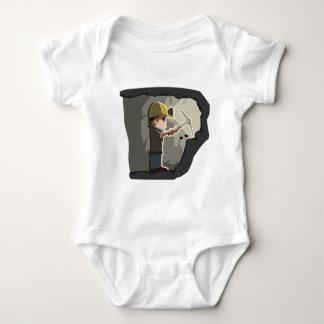 Miner Baby Bodysuit