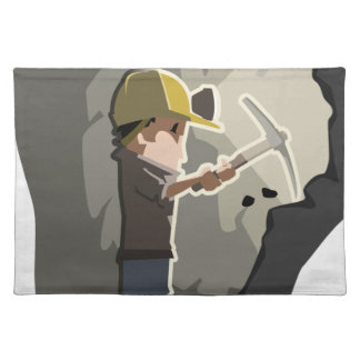 Miner Placemat