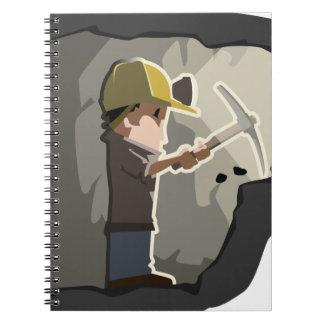 Miner Spiral Notebook