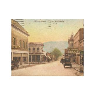 Miner Street Canvas Print