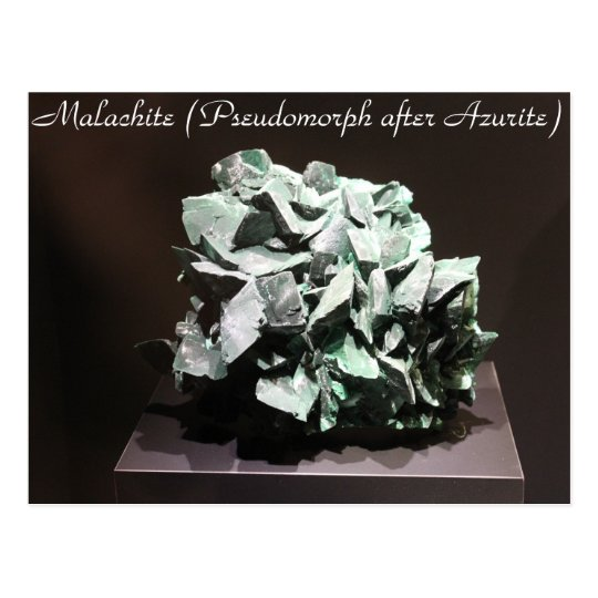 Minerals & Gems # 117 Postcard