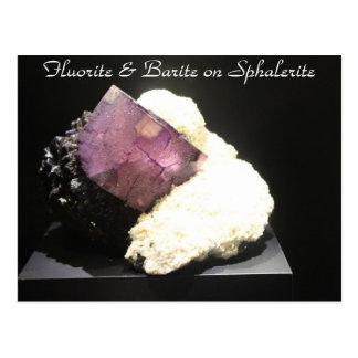 Minerals & Gems # 48 Postcard