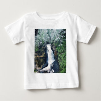 Miners Falls Upper Peninsula Michigan Baby T-Shirt