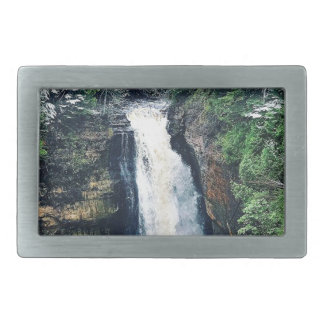 Miners Falls Upper Peninsula Michigan Belt Buckle