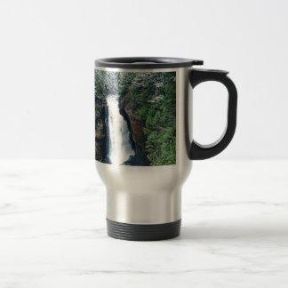 Miners Falls Upper Peninsula Michigan Travel Mug