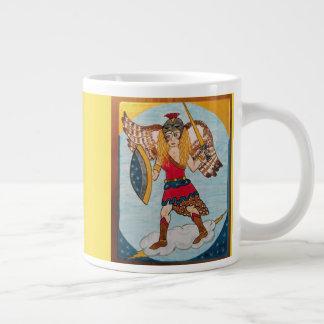 Minerva /Athena - Goddess of Wisdom Giant Coffee Mug