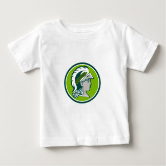 Minerva Wearing Laurel Circle Retro Baby T-Shirt