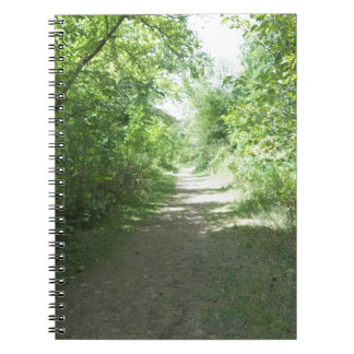 Mines of Spaine, Dubuque, Iowa Spiral Notebook