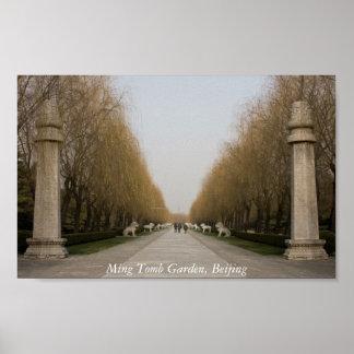 Ming Tomb Garden, Beijing Poster