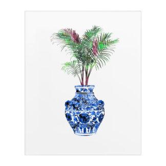 Ming Vase Acrylic Wall Art