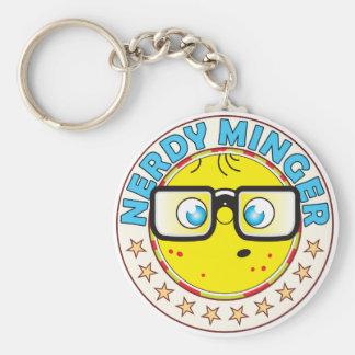 Minger Nerdy Keychain