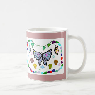 Mingling Butterflies Coffee Mug
