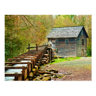 Mingus Mill, Great Smoky Mountains Postcard