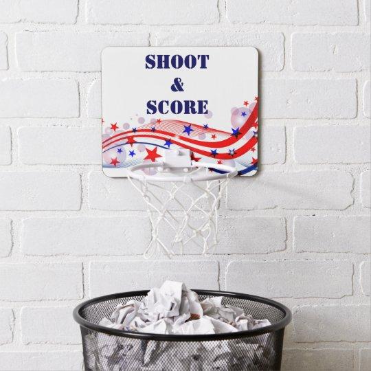 Mini Basketball Goal Custom Words Office Gift Dad Mini Basketball Hoop