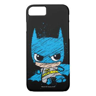 Mini Batman Sketch iPhone 7 Case