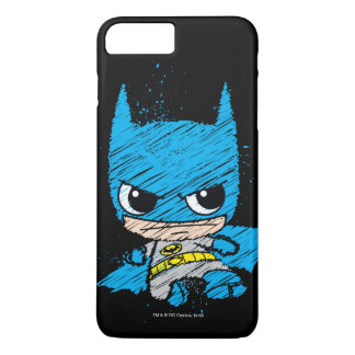 Mini Batman Sketch iPhone 7 Plus Case