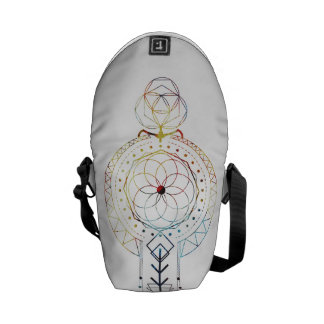 Mini Boho Sacred Geometry Inspired Bag Commuter Bag