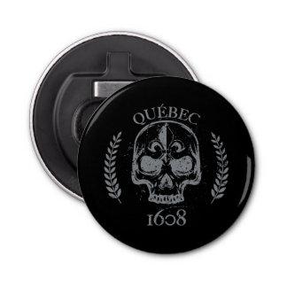 Mini Bottle-opener Quebec skull/skull biker Bottle Opener