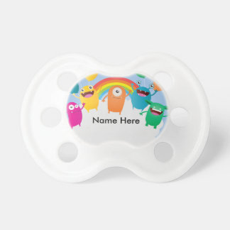 Mini Brothers Personalized Baby Birthday Pacifier