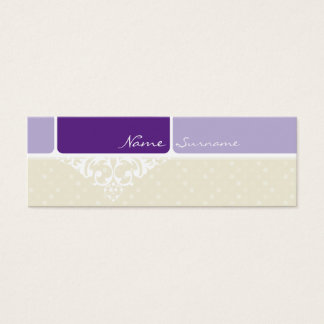 MINI BUSINESS CARD :: bliss 3