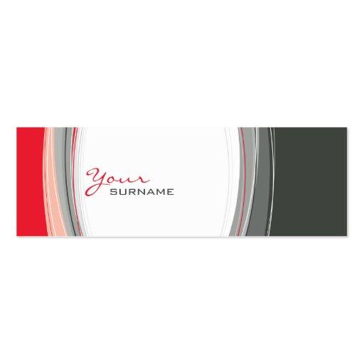 MINI BUSINESS CARD :: curves 2