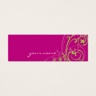 MINI BUSINESS CARD :: fabulously 1