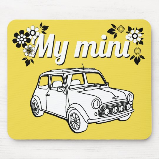 Mini car mouse pad