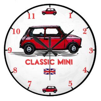 Mini Car Wall Clock