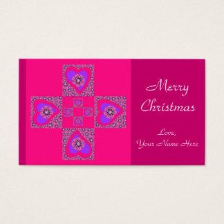 Mini Christmas Cards (Template)