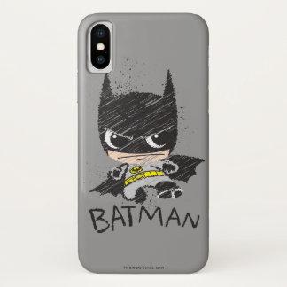 Mini Classic Batman Sketch Case-Mate iPhone Case
