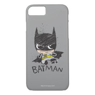 Mini Classic Batman Sketch iPhone 8/7 Case