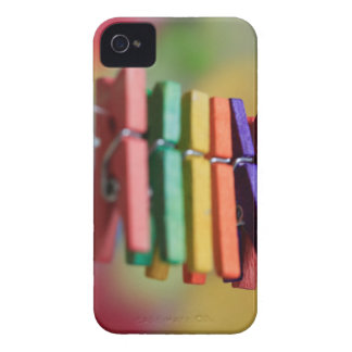 Mini Clothespins iPhone 4 Case-Mate Cases