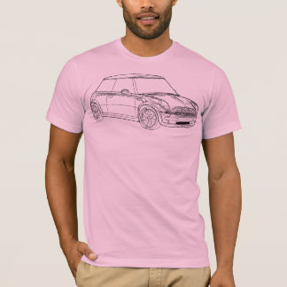 Mini Cooper Outline 2 T-Shirt