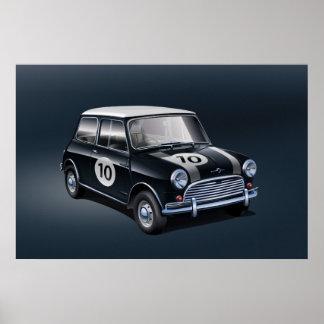 Mini Cooper S Poster Black