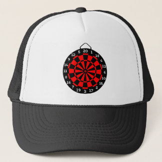 Mini Dartboard Trucker Hat