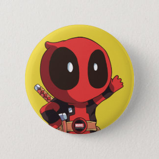 Mini Deadpool 2 Inch Round Button