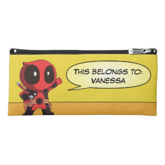 Mini Deadpool Pencil Case