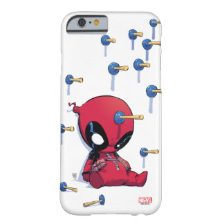Mini Deadpool Suction Cup Darts Barely There iPhone 6 Case