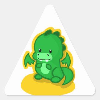 Mini Dragon Triangle Sticker