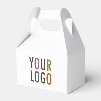 Mini Favour Gift Box with Handle Custom Logo & Favor Box