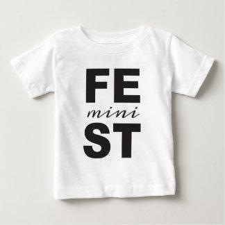 mini feminist baby T-Shirt