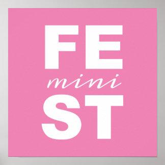 mini feminist poster