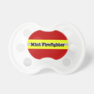 Mini Firefighter Pacifier