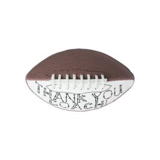 Mini Football; Thank You Coach Football