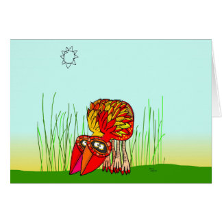mini gobble gobble card