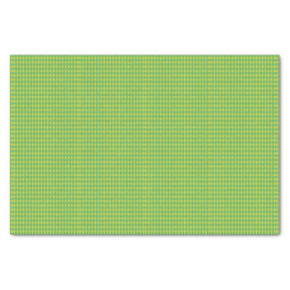 Mini Harlequin Diamonds | Green Tissue Paper