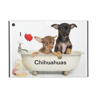 Mini iPad Case  - Chihuahua puppy's